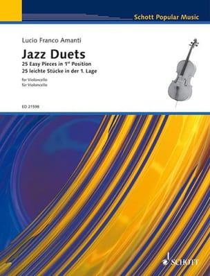 Lucio Franco Amanti - Jazz Duets - Partition - di-arezzo.fr