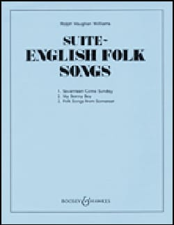 English Folk Song Suite WILLIAMS VAUGHAN Partition laflutedepan