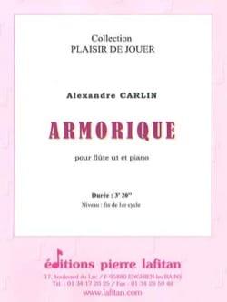 Alexandre Carlin - Armorique - Partition - di-arezzo.fr