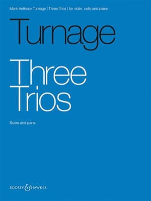 Mark-Anthony Turnage - Three Trios - Partition - di-arezzo.fr