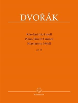 Piano trio en Fa mineur Op. 65 - stimmen - DVORAK - laflutedepan.com