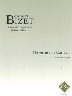 Ouverture de Carmen BIZET Partition Guitare - laflutedepan