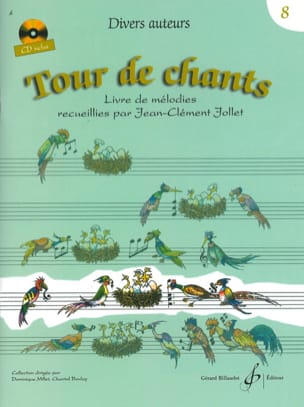 Jean-Clément Jollet - Tour de Chants Volume 8 - Partition - di-arezzo.fr