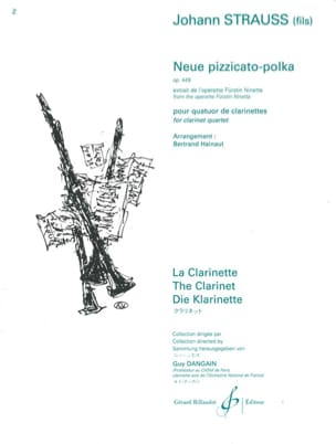 Neue pizzicato-polka - Opus 449 Johann (Fils) Strauss laflutedepan