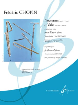 Nocturnes op. 15 n° 1 et 2 - Valse op. 64 n°1 « Minute » laflutedepan