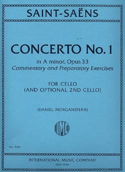 Camille Saint-Saëns - Concerto No. 1 in A minor Op. 33 - Sheet Music - di-arezzo.com
