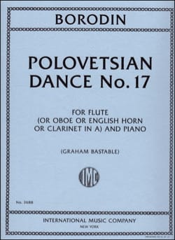 Danse polovtsienne n° 17 - Alexandre Borodine - laflutedepan.com