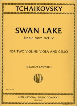Piotr Illitch Tchaikovski - Swan Lake - Partition - di-arezzo.fr
