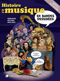 Sadler Michael / Lemery Denys / Deyries Bernard - History of music in comics - Book - di-arezzo.com