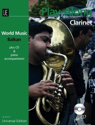 Traditionnel - World Music Balkan for clarinet - Sheet Music - di-arezzo.co.uk