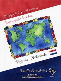 Musique Facile pour 4 Guitares : Pays-Bas - laflutedepan.com