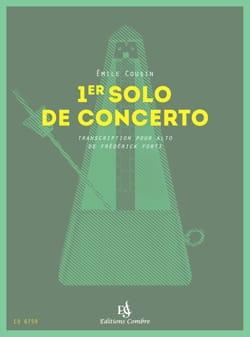 Emile Cousin - 1 ° Concerto Solo - Partitura - di-arezzo.it