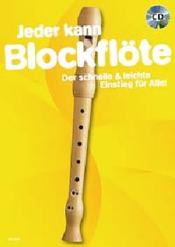 Jeder kann Blockflöte - Partition - Flûte à bec - laflutedepan.com