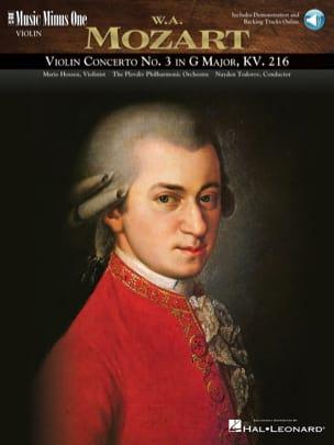 Concerto pour violon n°3 en sol majeur - Avec 1 CD - laflutedepan.com