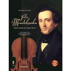 MENDELSSOHN - Violin Concerto in E minor, op. 64 - With 2 CDs - Partition - di-arezzo.com