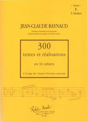 Jean-Claude Raynaud - 300 Texts and Achievements - Volume 8: Texts - Sheet Music - di-arezzo.com