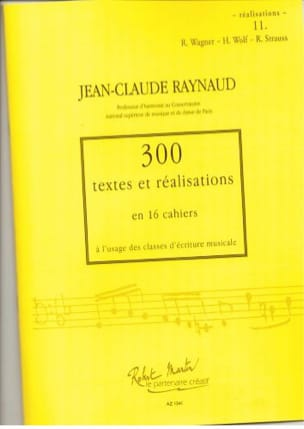Jean-Claude Raynaud - 300 Texts and Achievements - Volume 11: Achievements - Sheet Music - di-arezzo.co.uk