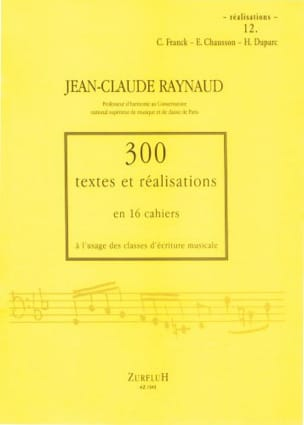 Jean-Claude Raynaud - 300 Texts and Achievements - Volume 12: Achievements - Sheet Music - di-arezzo.com