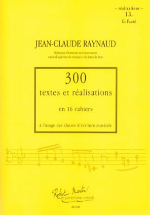 Jean-Claude Raynaud - 300 Texts and Achievements - Volume 13: Achievements - Sheet Music - di-arezzo.co.uk