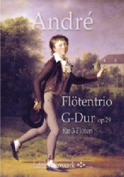 Trio pour Flûtes en Sol Majeur, op. 29 - laflutedepan.com