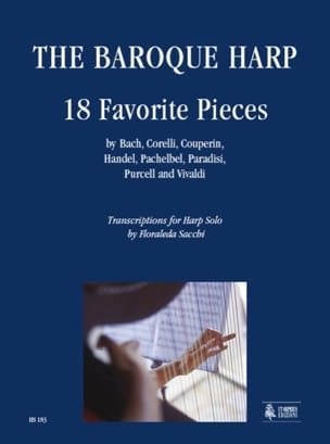 The Baroque Harp 18 Favorites Pieces Partition Harpe - laflutedepan