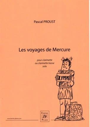 Les voyages de Mercure - Pascal Proust - Partition - laflutedepan.com