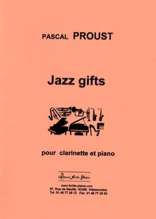 Jazz gifts - Pascal Proust - Partition - Clarinette - laflutedepan.com