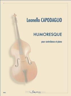 Humoresque Leonello Capodaglio Partition Contrebasse - laflutedepan