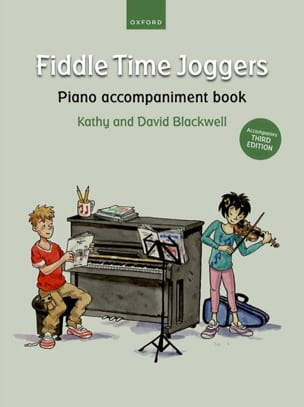 Fiddle Time Joggers - Piano accompaniment Book laflutedepan