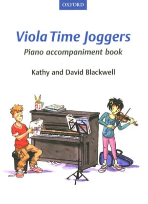 Viola Time Joggers Piano Book - Accompagnement Piano laflutedepan
