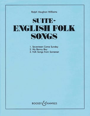 Williams Ralph Vaughan - English Folk Song Suite - Partitur with Stimmen - Partition - di-arezzo.co.uk