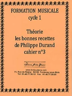 Philippe Durand - Theory, The Good Recipes, Volume 3 - Sheet Music - di-arezzo.co.uk