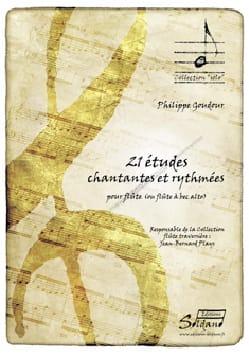 Philippe Goudour - 21 études chantantes et rythmées - Partition - di-arezzo.fr