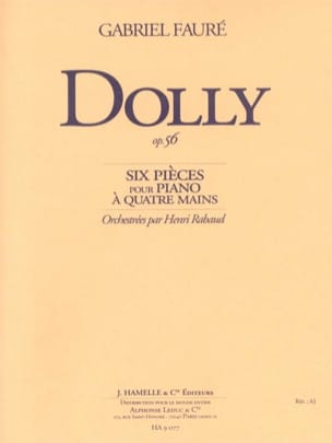 Gabriel Fauré - Dolly Op. 56 - Sheet Music - di-arezzo.co.uk