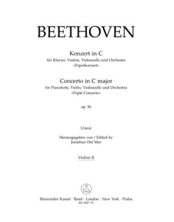 Concerto for Pianoforte, Violin, Violoncello and Orchestra C major op. 56 - laflutedepan.com
