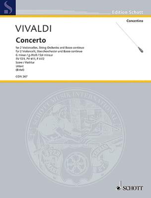 VIVALDI - Concerto in G minor, RV 531 - Sheet Music - di-arezzo.com