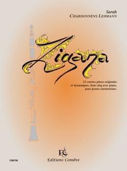 Zigana Sarah Chardonnens-Lehmann Partition Clarinette - laflutedepan