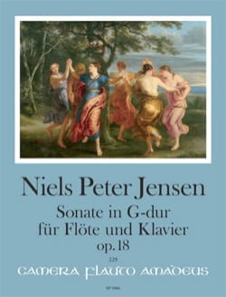 Niels Peter Jensen - Sonata in G Major op. 18 - Sheet Music - di-arezzo.com