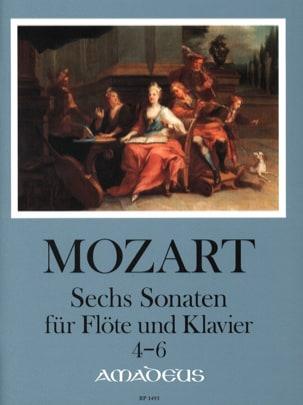 MOZART - 6 Sonates pour Flûte et Piano - Volume 2 : Sonatas 4-6 - Partition - di-arezzo.fr