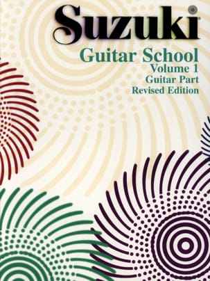 Shinichi Suzuki - Guitar School Volume 1 (Guitar Part) - Partition - di-arezzo.fr