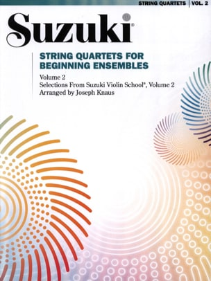 suzuki - Cuartetos de cuerda para el volumen inicial 2 Sets - Partitura - di-arezzo.es