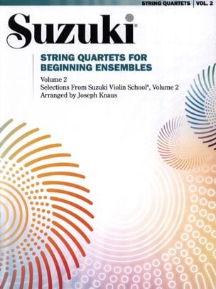 suzuki - String Quartets for Beginning Volume 2 Sets - Sheet Music - di-arezzo.co.uk