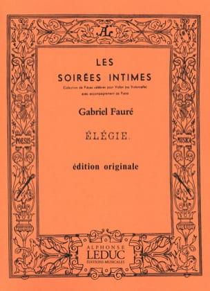 Gabriel Fauré - Elegy Op. 24 - Sheet Music - di-arezzo.com