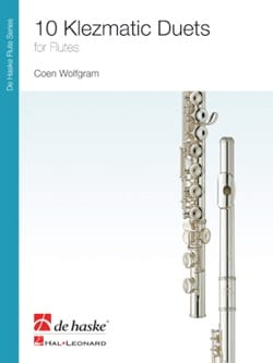 Wolfgram Coen - 10 Klezmatic Duets for Flute - Partition - di-arezzo.fr