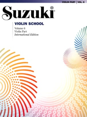 Suzuki - Violin School Vol.6 - Violin Part - Sheet Music - di-arezzo.co.uk
