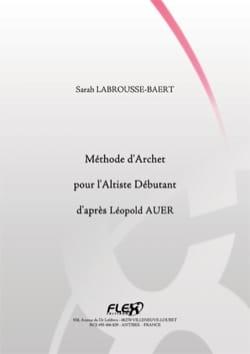 Méthode d'Archet pour l'Altiste Débutant d'Après Léopold AUER laflutedepan