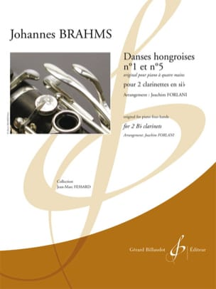 BRAHMS - Hungarian dances n ° 1 and n ° 5 - Sheet Music - di-arezzo.com