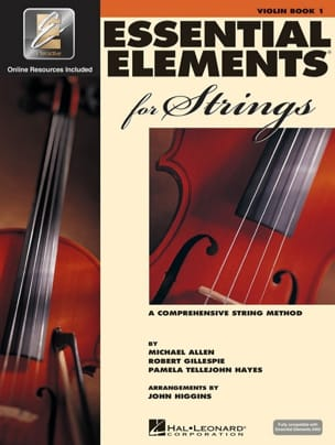 Allen Michael / Robert Gillepsie / Pamela Tellejohn Hayes - Essential Elements 2000 for strings - Violin, volume 1 - Sheet Music - di-arezzo.com