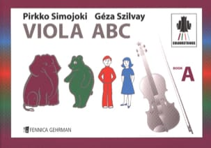 Viola ABC Book A Colourstrings - Geza Szilvay - laflutedepan.com