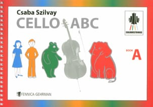 Geza Szilvay - Cello ABC Book A Colourstrings - Sheet Music - di-arezzo.co.uk